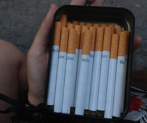 cigarette, pale style, and hipster image