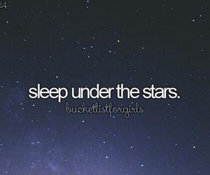 stars and sleep image