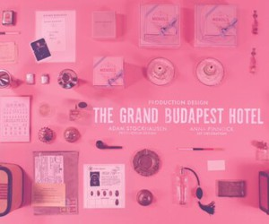 pink, the grand budapest hotel, and movie image