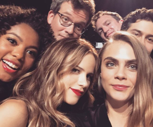 cara delevingne, john green, and paper towns image
