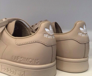 adidas, shoes, and beige image