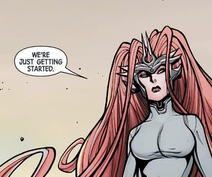 Marvel, inhumans, and medusalith amaquelin image