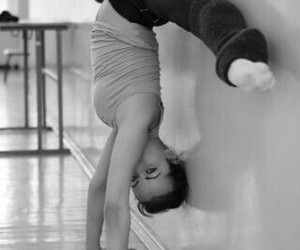 dance, flexibility, and strech image
