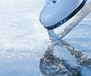 ice, ice skating, and skating image