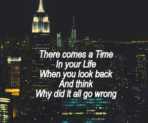 back, quote, and time image