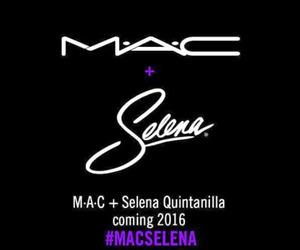 mac, makeup, and selena quintanilla image