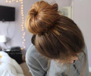 hair, girl, and tumblr image