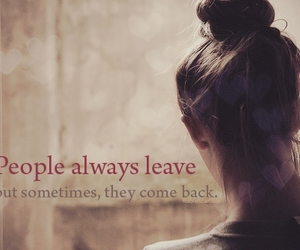 leave, people, and back image