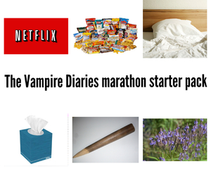the vampire diaries, funny, and tvd image