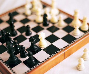 vintage, chess, and game image