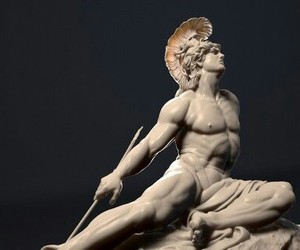 achilles, fantasy, and Greece image