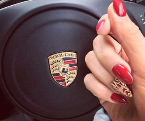 nails, car, and red image