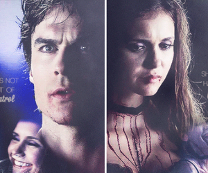 Nina Dobrev, ian somerhalder, and elena gilbert image