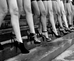 fashion, heels, and legs image