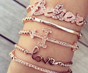 accessories, believe, and bracelet image