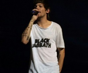 louis tomlinson, otravancouver, and one direction image