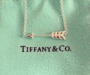 arrow, necklace, and tiffany image