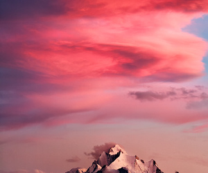mountain, sky, and switzerland image