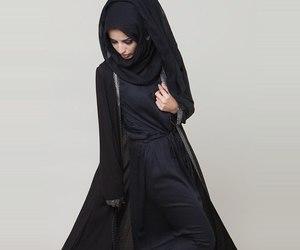 muslim and abaya image