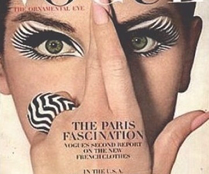 1964, vintage, and vogue magazine image