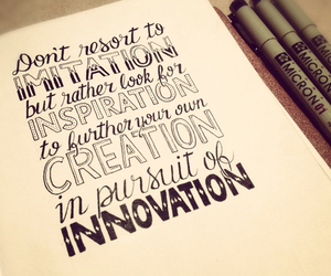 inspiration, innovation, and quotes image
