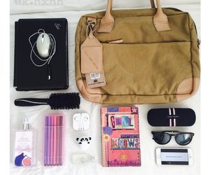 organization, school, and supplies image