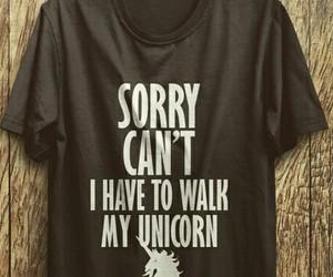 t-shirt and unicorn image
