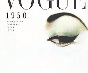 1950, vintage, and vogue magazine image