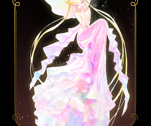 manga, sailor moon, and neo queen serenity image