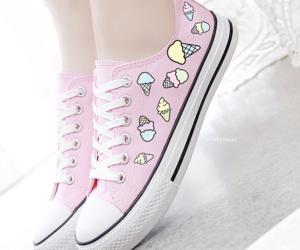 shoes, pink, and kawaii image