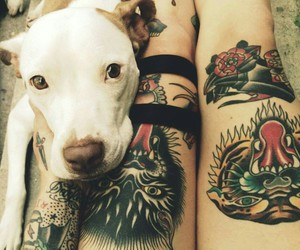 tattoo and dog image