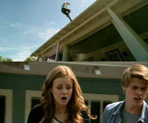 colin ford, under the dome, and max ehrich image