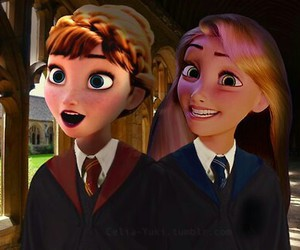 anna and rapunzel image