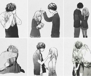 manga and ao haru ride image