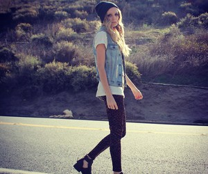 hipster, style, and street girl sun image