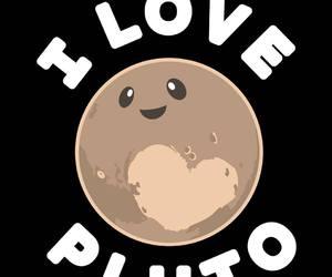 kawaii, planet, and pluto image