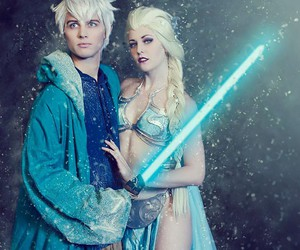 frozen, jack frost, and star wars image