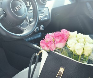 A1, audi, and flowers image