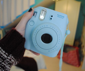 camera, tumblr, and blue image