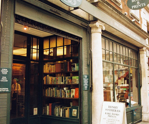 book, bookstore, and happy image