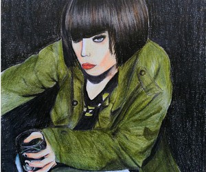 alcohol, Alice Glass, and art image