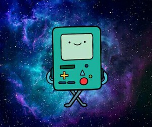 blue, bmo, and cool image
