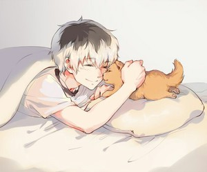 boy, cute, and manga image