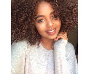 beautiful, curl, and fashion image
