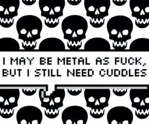 metal and cuddle image