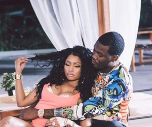 nicki minaj, meek mill, and omeeka image