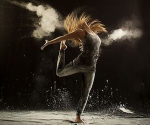 chalk, dancing, and dance image