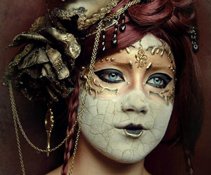 Halloween, masque, and venise image