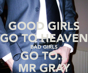 christian grey, mr grey, and fifty shades of grey image