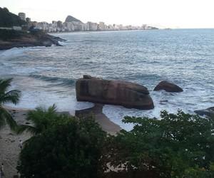 beach, beautiful, and rio image